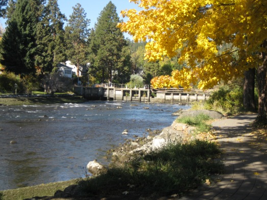 The 'bend ' of the Deschutes River