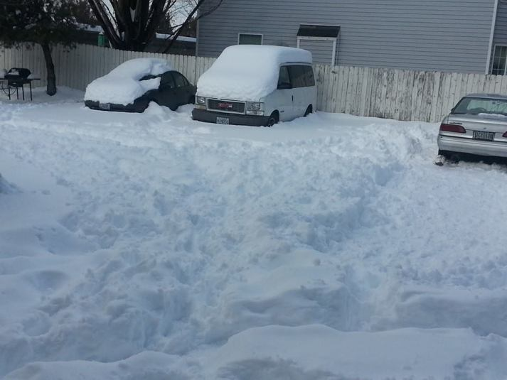 Trying to dig out was  a bust.