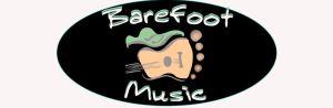 barefoot music logo oval