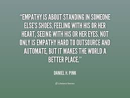 image empathy is about standing
